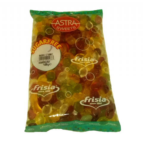 Fruit Salad - Sugar Free Jellies Gums Sweets Bulk Buy Bag 1kg
